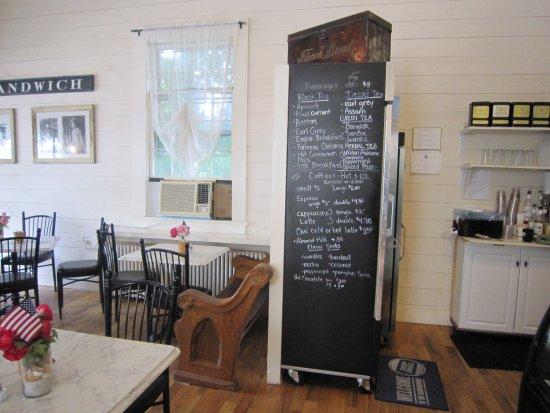 Beth's Bakery & Cafe: Coffee & Tea menu