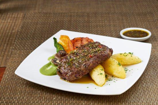 Akros Hotel: Bife de Chorizo al estilo AKROS