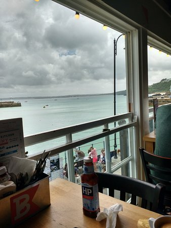 The balcony bar kitchen st ives england updated 2017 for Balcony bar top