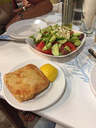 Souvlaki Club: Gyros Plate, Souvaki Club, Folegandros