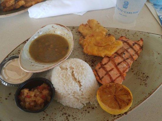 The Ritz-Carlton, San Juan: Lunch was delicious