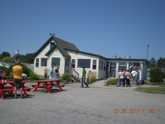 The Lobster Shack at Two Lights Photo