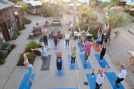 Ojai, Καλιφόρνια: Yoga classes available