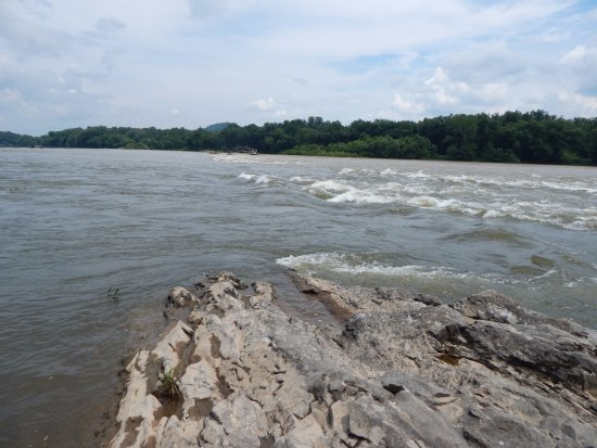 Mckee's Half Falls on the Susquehanna River near Port Trevorton Pa