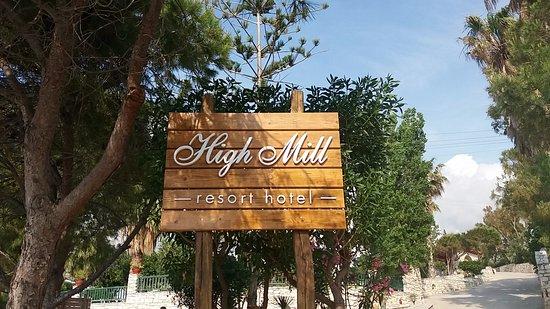 High Mill: Entrada al Hotel