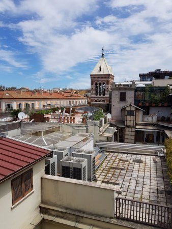Hotel Artemide: View from the roof
