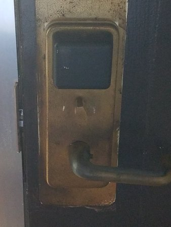 Regency Inn and Conference Center Out of date barely functional key door swipe & Out of date barely functional key door swipe - Picture of Regency ...
