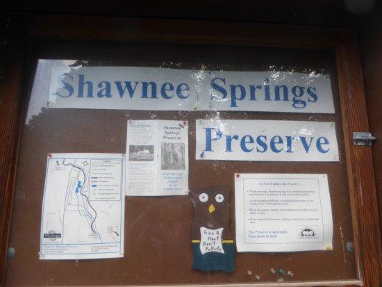 Shawnee Springs Preserve: Board