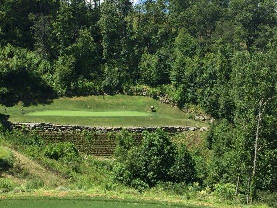 Whittier, Carolina del Norte: Hole No. 2 - Par 3