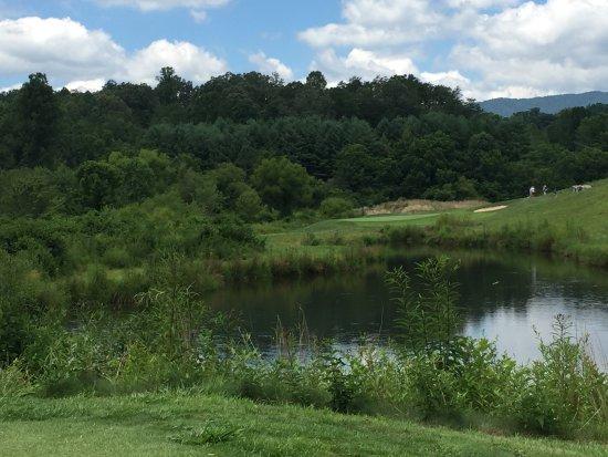 Whittier, Karolina Północna: Hole No. 6 is a Par -3
