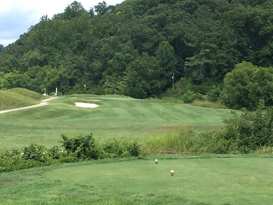 Whittier, Carolina del Norte: Hole No. 16 - Par-3