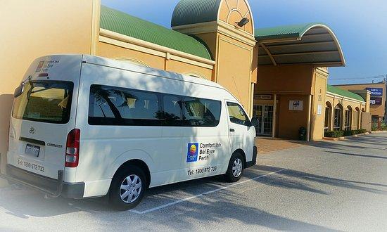 Comfort Inn Bel Eyre Perth: Courtesy Coach