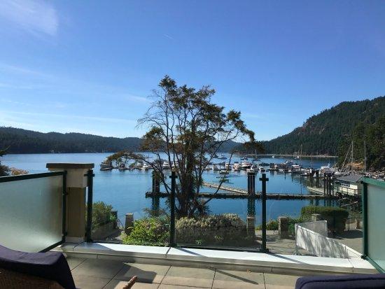 Pender Island, แคนาดา: Nice views from lodge rooms
