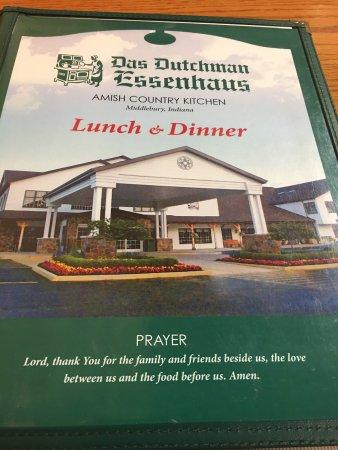 Middlebury, IN: Das Dutchman Essenhaus