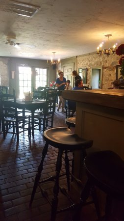 Jack's Pantry & Cafe: The wine bar in the back of the restaurant