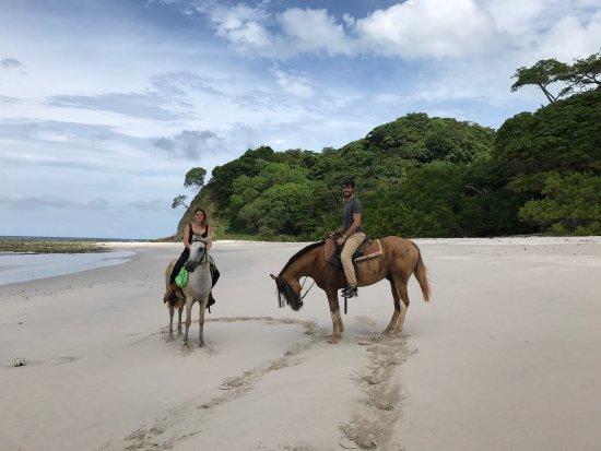 Playa Samara, Costa Rica: Horsejungle