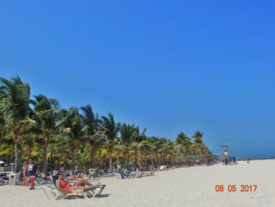 Hotel Riu Yucatan: Beach