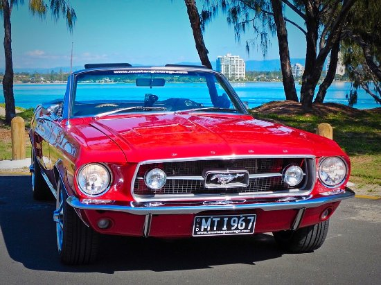 Gold Coast, Australië: Mustang Sally at The Spit Main Beach