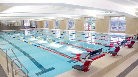 The Salisbury-YMCA of Hong Kong: Indoor temperature controlled 6-lane Swimming Pool
