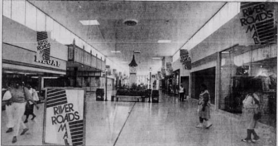 River Roads Mall - Jennings, Missouri, 1988