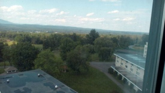 Hudson Valley Resort and Spa : View to the side