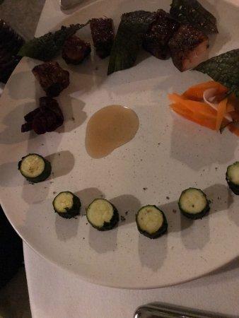 Fantastic food at The Legian