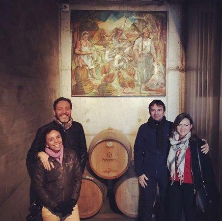 Pizzorno Family Estates: Visita às instalações da Pizzorno