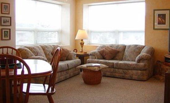 Seldovia, AK: HarborView Living Room