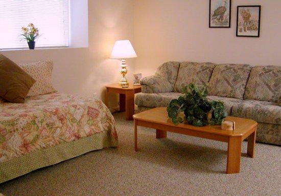 Seldovia, AK: MountainView Living Room