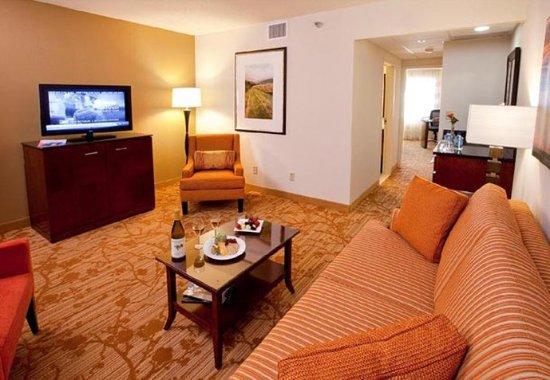 บรุกลีนพาร์ก, มินนิโซตา: Suite Living Area