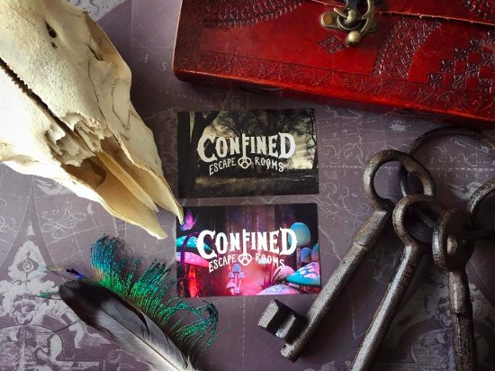Confined Escape Rooms