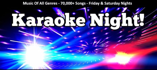 Pine Tree Restaurant & Lounge: Karaoke Night every Friday and Saturday