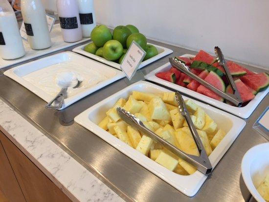 Reykholt, İzlanda: Breakfast buffet