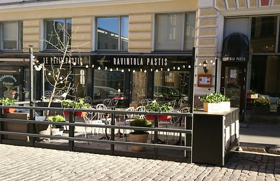 Ravintola Pastis: Restaurant Pastis terrace