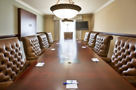 Holiday Inn Express & Suites Allen North - Event Center: Presidential Suite - Conference Table with 10 chairs