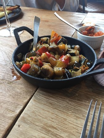Jodoigne, Bélgica: Et sa macédoine de légumes