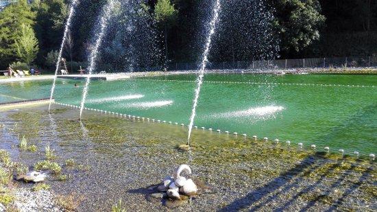 Saint-Chaffrey, France : Baignade Biologique
