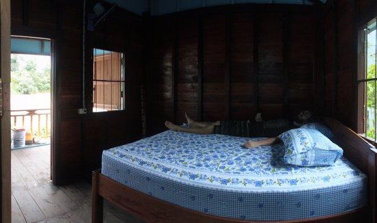 Don Det, ลาว: inside our Bungalows