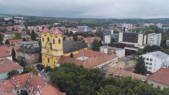 Eger, Magyarország: Högt från tornet