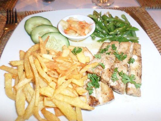Poisson grill obr zek za zen sails restaurant amed tripadvisor - Restaurant poisson grille paris ...