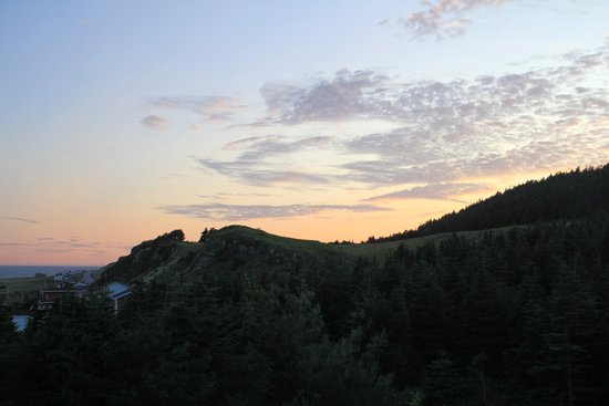 Port au Port, Canada: Sunset view from Inn at the Cape