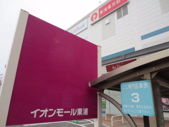 Higashiura-cho, Japan: 専門店東側
