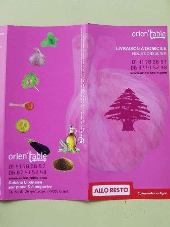 Creteil, Frankrike: Orien'table