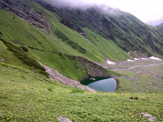 Beas Kund, The Source of River Beas, please don't throw any kind of garbage, carry back to Manal