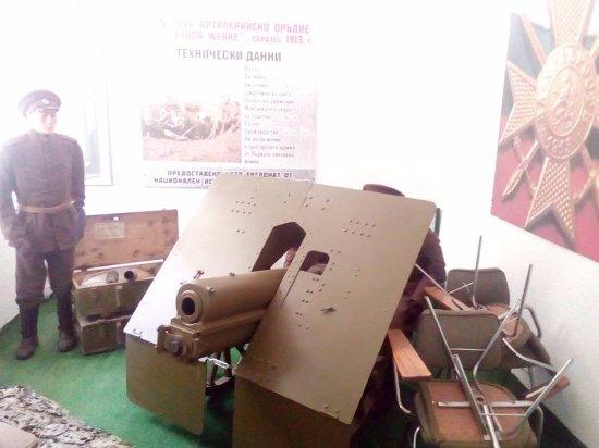 Yambol, Βουλγαρία: WWI gun