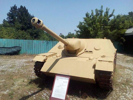 Yambol, Bulgaristan: The unique Jagdpanzer IV L48