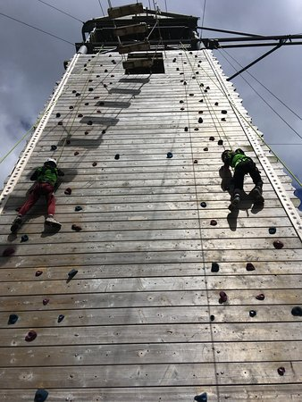 Killary Adventure Centre: we all got to the top, even me!