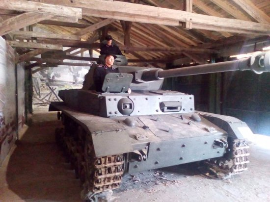 Yambol, Bulgaristan: Panzer IV Ausf.H Diorama