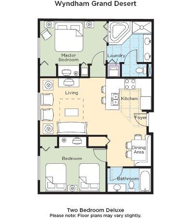 Bedroom Picture Of Wyndham Grand Desert Las Vegas Tripadvisor