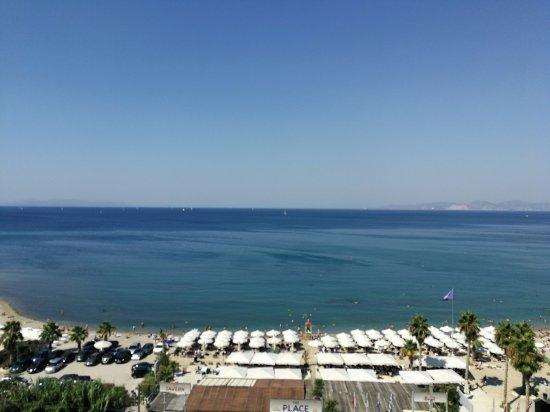 Athens Poseidon Hotel: Otelin terasından